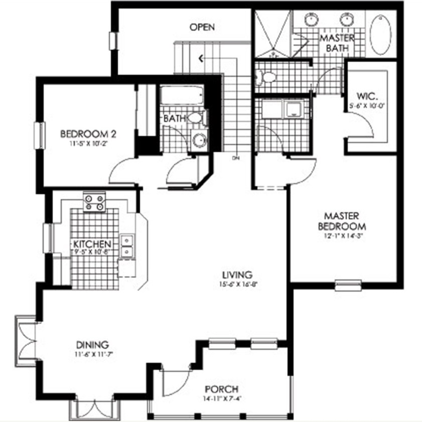 Layout, First Floor